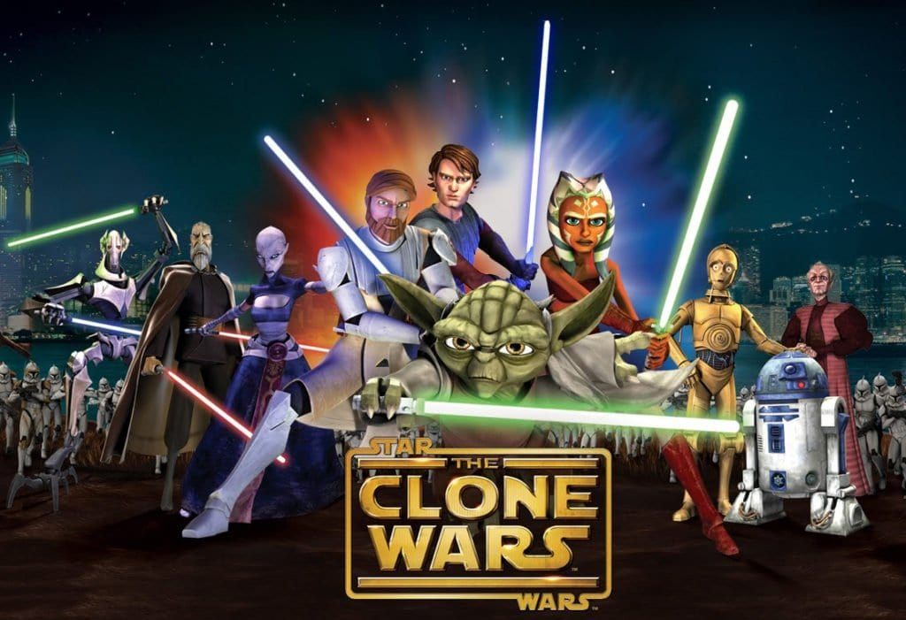 STAR WARS: THE CLONE WARS Family Movie Review