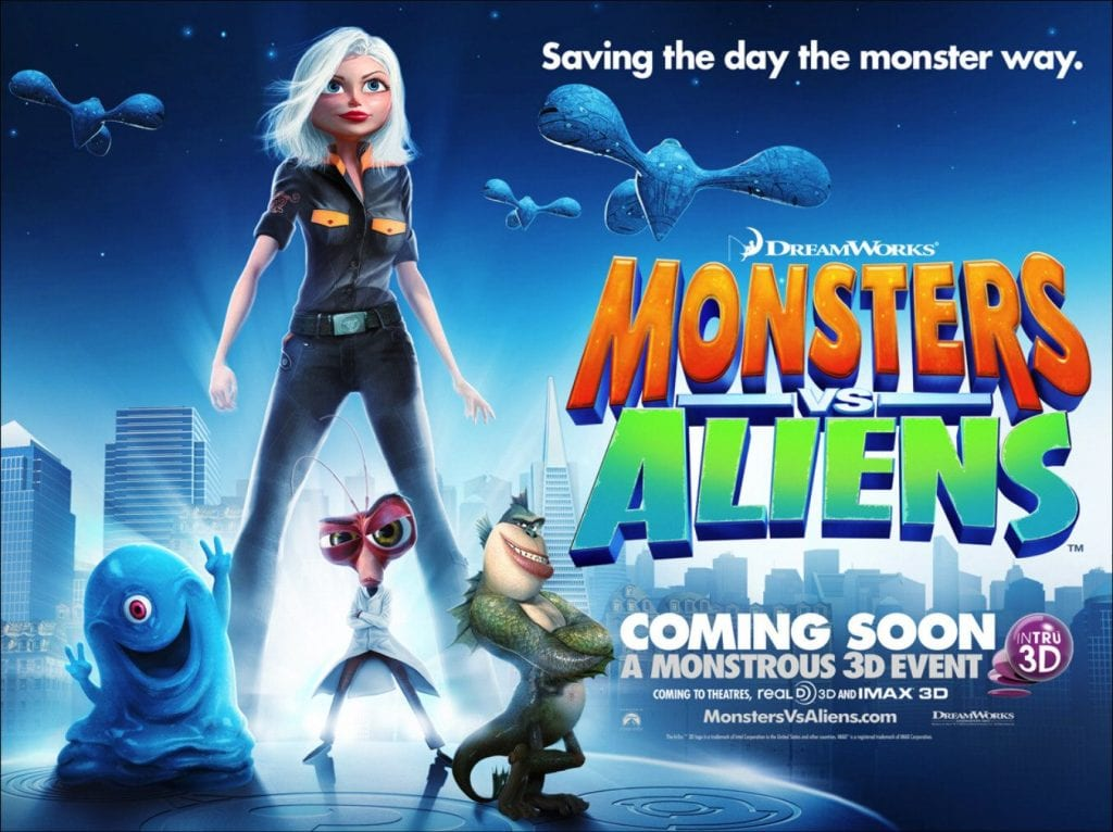 MONSTERS vs. ALIENS Family Movie Review