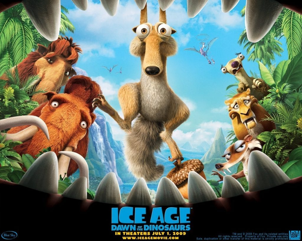 ICE AGE: DAWN OF THE DINOSAURS Family Movie Review
