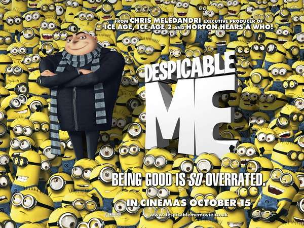 DESPICABLE ME Family Movie Review