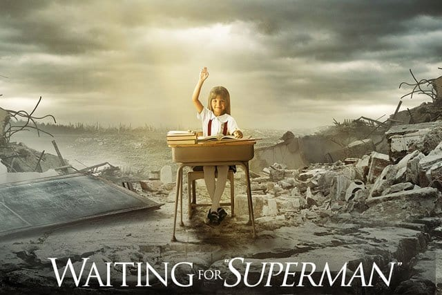 WAITING FOR SUPERMAN Family Movie Review