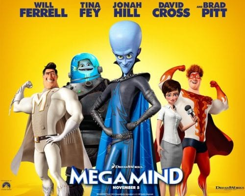 MEGAMIND Family Movie Review