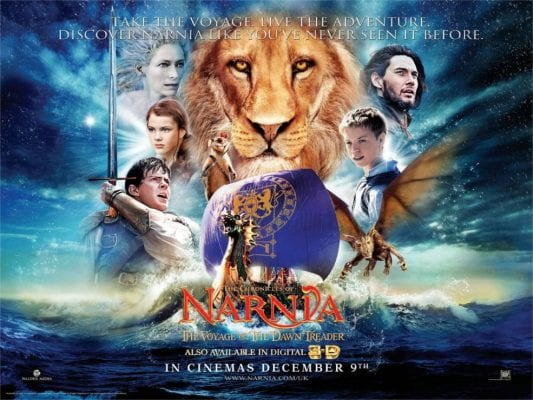 NARNIA: VOYAGE OF THE DAWN TREADER Family Movie Review