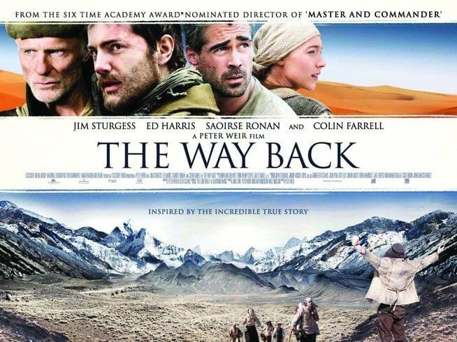 THE WAY BACK Family Movie Review