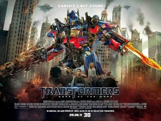 TRANSFORMERS: DARK OF THE MOON Family Movie Review
