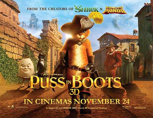 PUSS IN BOOTS Family Movie Review