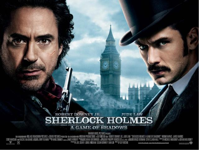 SHERLOCK HOLMES: GAME OF SHADOWS Family Movie Review