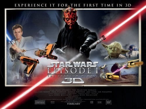 THE PHANTOM MENACE 3D Family Movie Review