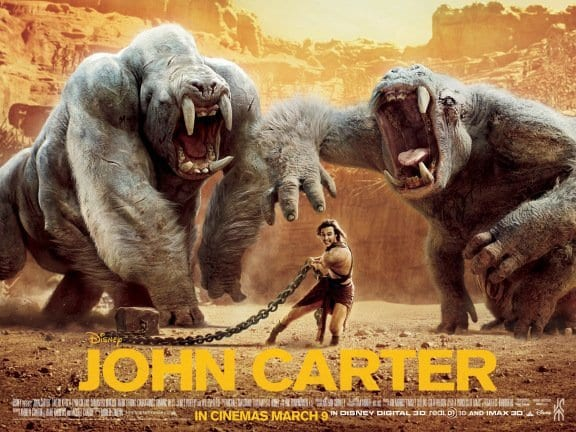 JOHN CARTER Family Movie Review