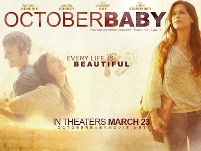 OCTOBER BABY Family Movie Review