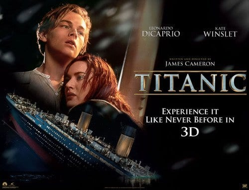 TITANIC 3D Family Movie Review