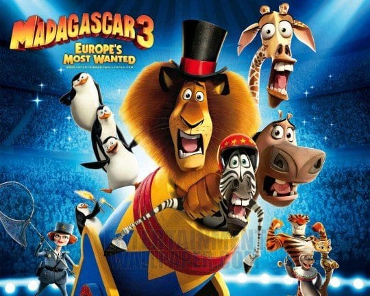 MADAGASCAR 3 Family Movie Review