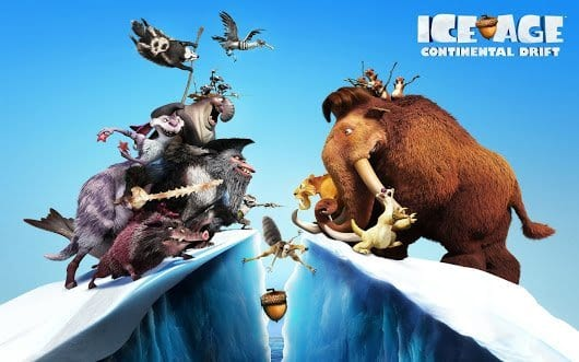 ICE AGE: CONTINENTAL DRIFT Family Movie Review