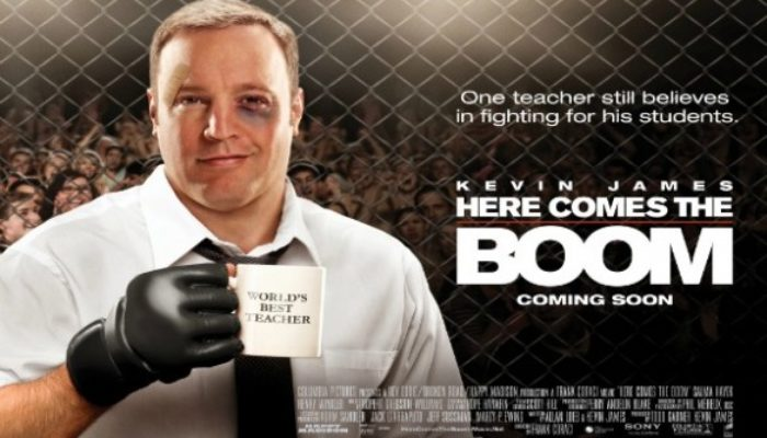 HERE COMES THE BOOM Family Movie Review
