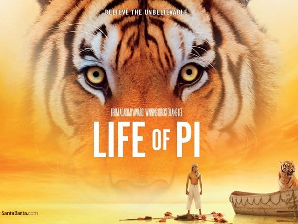 LIFE OF PI Family Movie Review