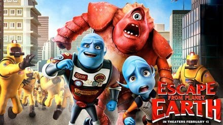 ESCAPE FROM PLANET EARTH Family Movie Review