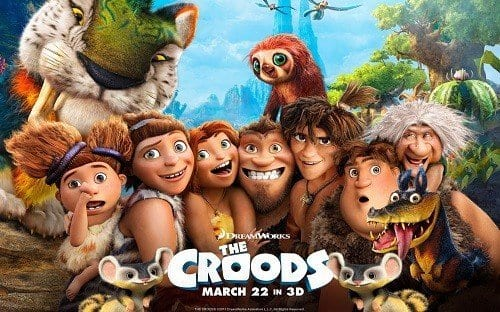 THE CROODS Family Movie Review