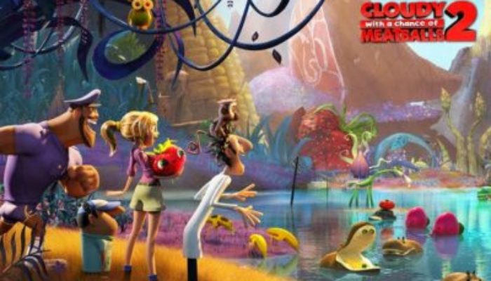 CLOUDY WITH A CHANCE OF MEATBALLS 2 Family Movie Review