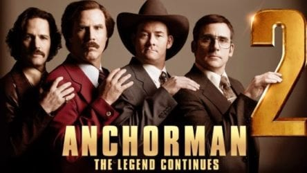 ANCHORMAN 2 Family Movie Review