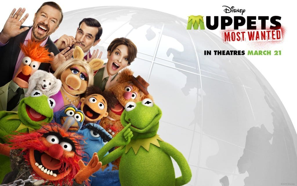 MUPPETS MOST WANTED Family Movie Review