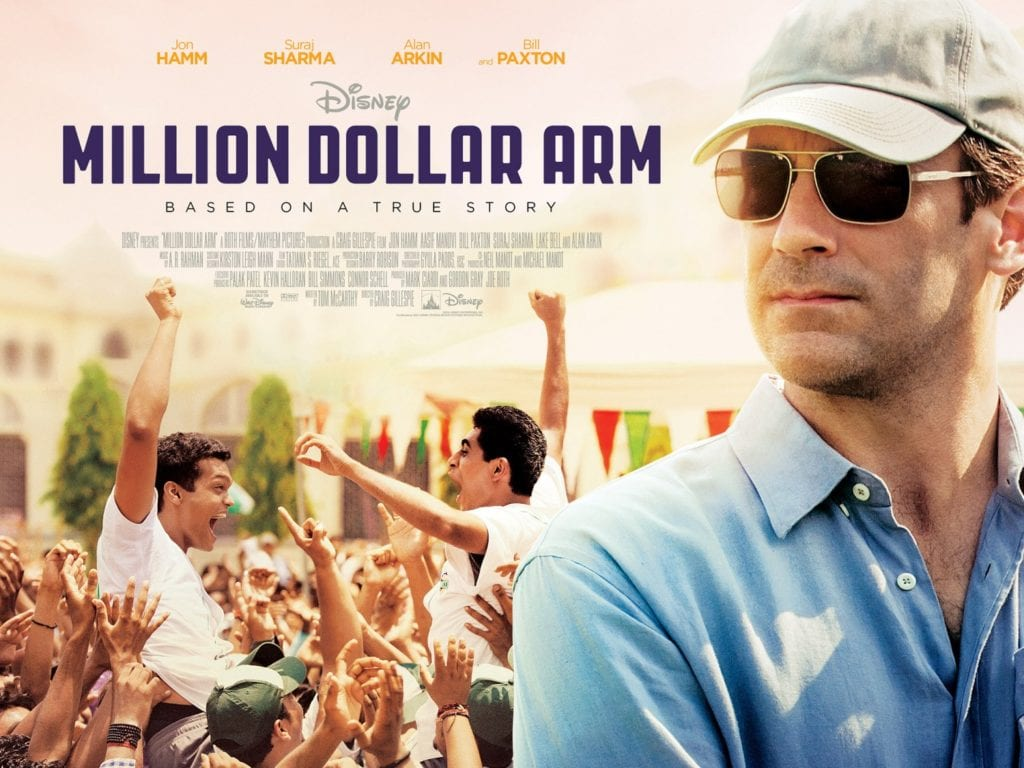 MILLION DOLLAR ARM Family Movie Review