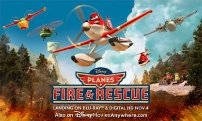 PLANES: FIRE AND RESCUE Family Movie Review