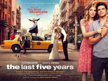 THE LAST FIVE YEARS Family Movie Review