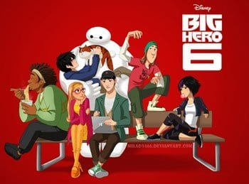 BIG HERO 6 Family Movie Review