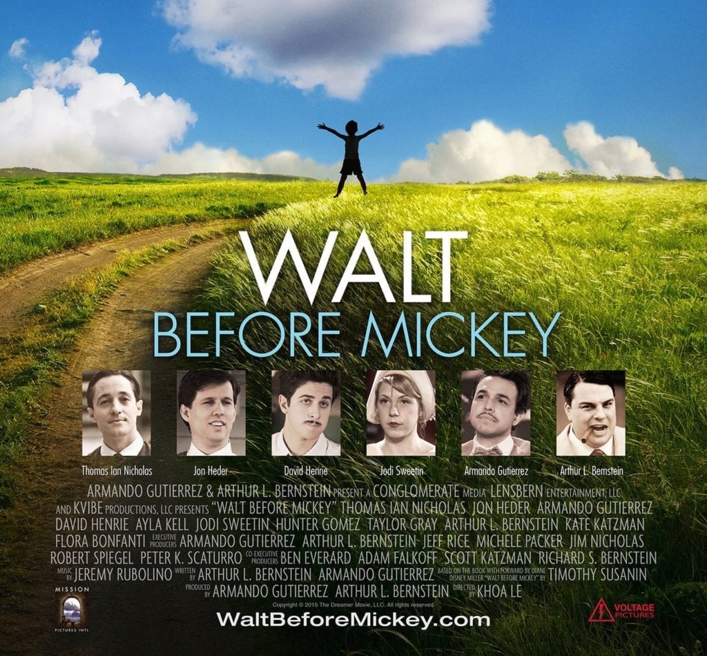 WALT BEFORE MICKEY Family Movie Review