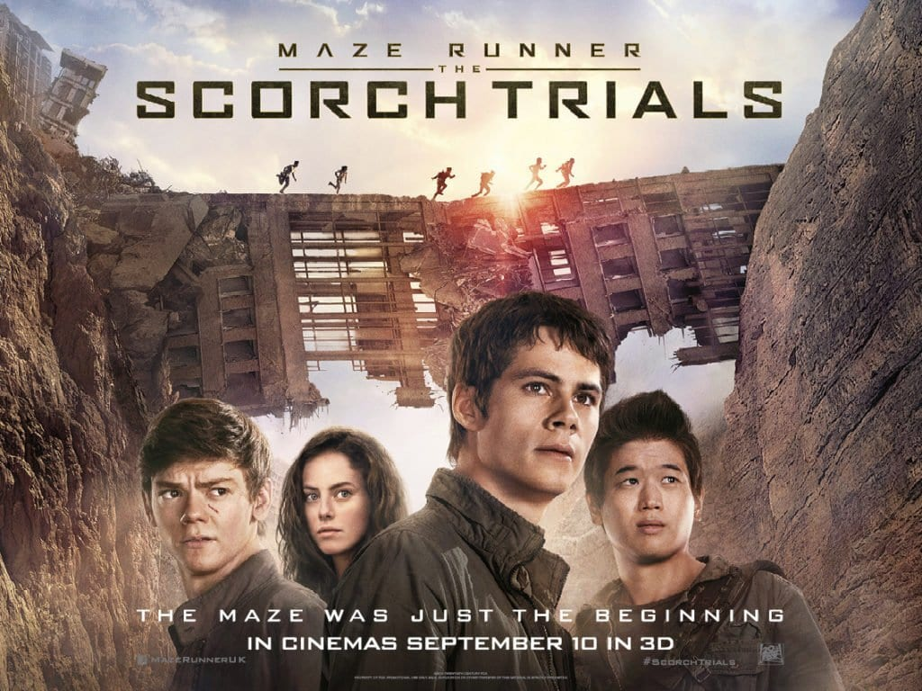MAZE RUNNER: SCORCH TRIALS Family Movie Review