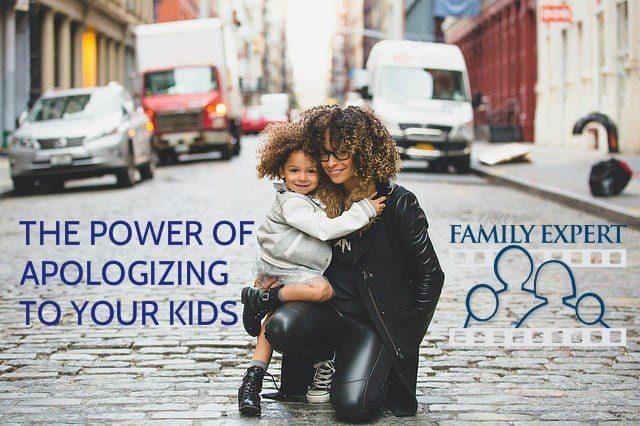 apologizing to your kids
