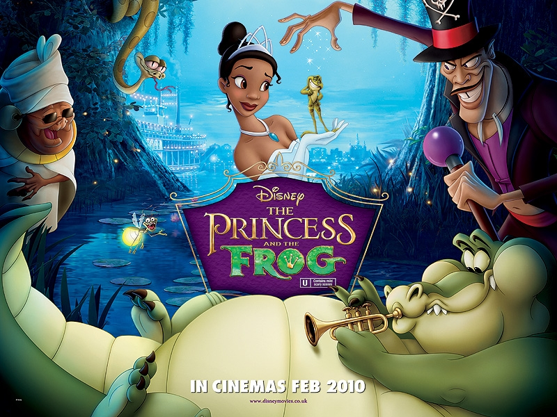 THE PRINCESS AND THE FROG Family Movie Review