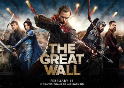 THE GREAT WALL Family Movie Review
