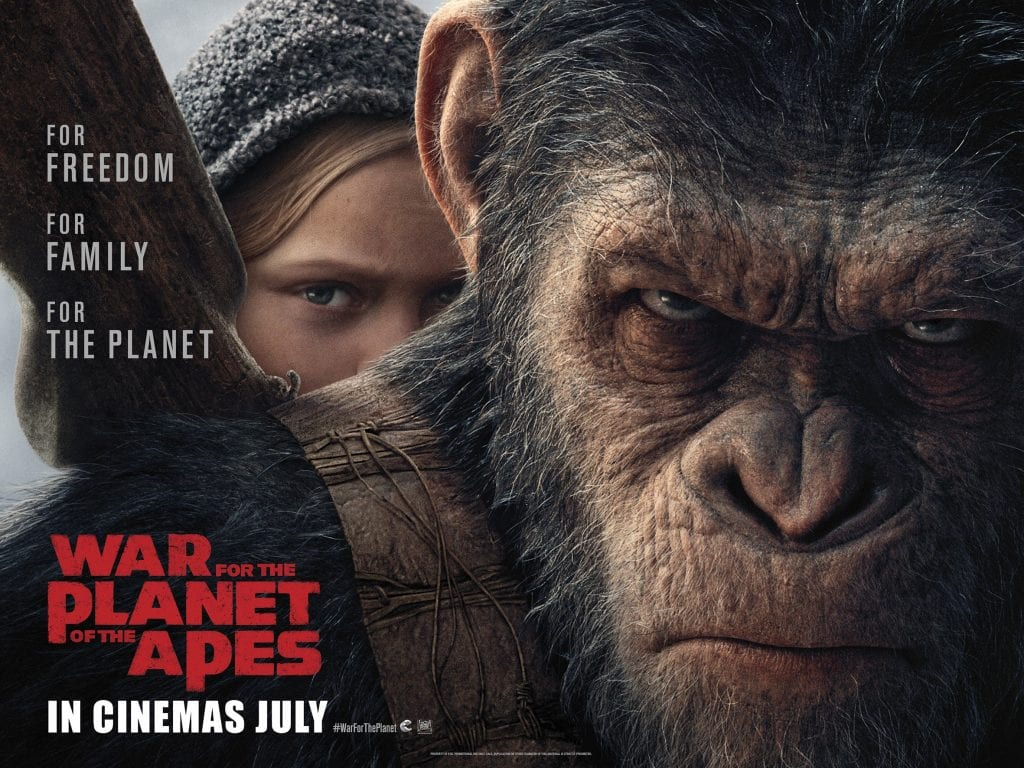 WAR FOR THE PLANET OF THE APES Family Movie Review