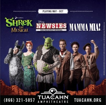 What to See at Tuacahn: Family Reviews of SHREK, NEWSIES, and MAMMA MIA!