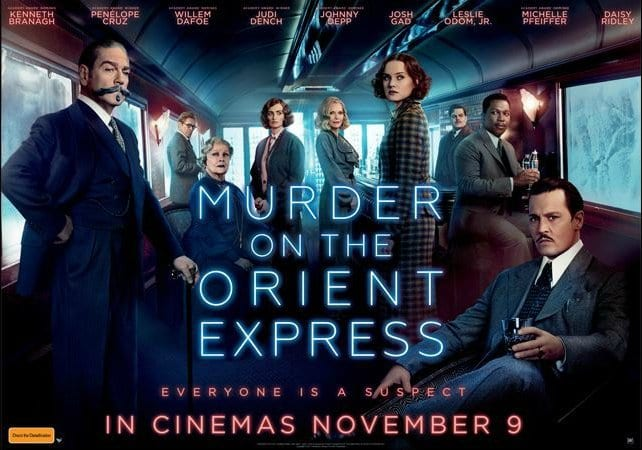 MURDER ON THE ORIENT EXPRESS Family Movie Review