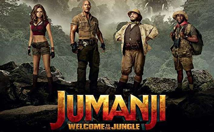 JUMANJI: WELCOME TO THE JUNGLE Family Movie Review