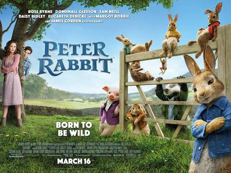 PETER RABBIT Family Movie Review