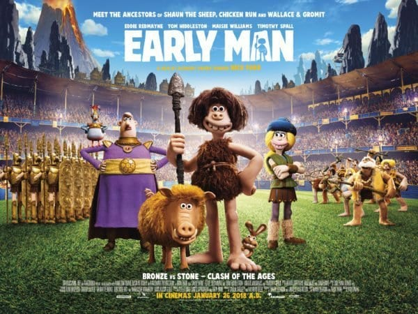 EARLY MAN Family Movie Review