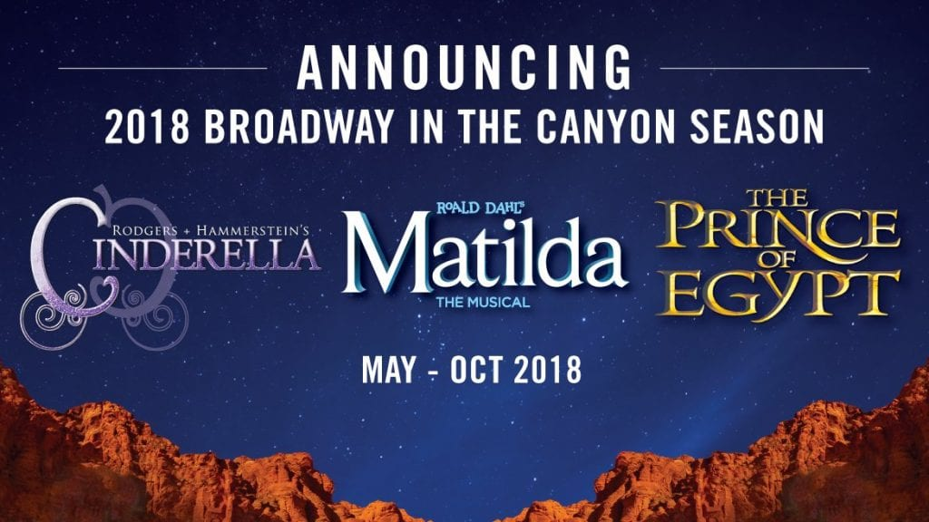 TUACAHN 2018: Family Reviews of PRINCE OF EGYPT, CINDERELLA, MATILDA, and MILLION-DOLLAR QUARTET