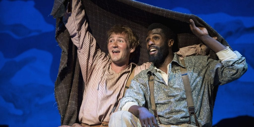 Family Reviews: Big River, Merry Wives of Windsor, and The Foreigner at UT Shakespeare Festival