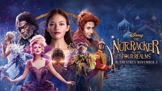 NUTCRACKER AND THE FOUR REALMS Family Movie Review
